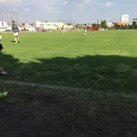 Photo taken at Canchas UPAEP by Christian B. on 3/18/2017