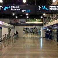 Photo taken at Zagreb International Airport (ZAG) by Josip G. on 3/21/2013