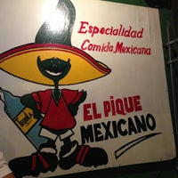 Photo taken at El Pique Mexicano by Isa O. on 3/28/2013