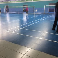 Photo taken at Pro One Badminton Centre by nur Izzati on 1/11/2017