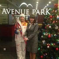 Снимок сделан в Avenue Park Hotel пользователем Elena G. 12/24/2013