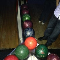 Photo taken at Bowlmor Lanes Union Square by greg n. on 3/3/2013