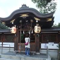 10/27/2012にクリ坊主が晴明神社で撮った写真