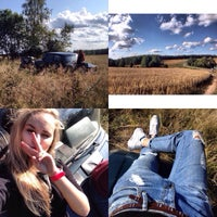 Photo taken at Окраина леса❤️🌲🌲 by Nastya A. on 8/26/2014