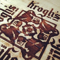 Photo taken at Krogh's Restaurant & Brew Pub by Chris P. on 4/14/2012