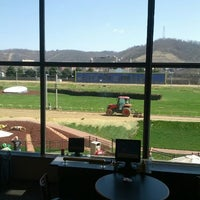 Photo taken at Wheeling Island Hotel-Casino-Racetrack by Timothy E. on 3/17/2012