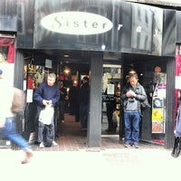 Photo taken at Sister Ray Records by sinister p. on 4/21/2012