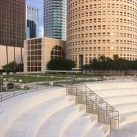 Photo taken at Curtis Hixon Waterfront Park by Kerry Heather M. on 4/14/2012
