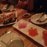 Photo taken at Zest Sushi & Tapas Bar by Rachel O. on 8/23/2012