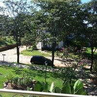 Photo taken at Pousada dos Pireneus Resort by Luiz Felippe Z. on 6/2/2012