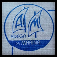 Photo taken at Adega da Marina by Ricardo F. on 7/25/2012