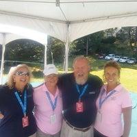 Photo taken at Wyndham Championship at Sedgefield CC by Jim R. on 8/15/2014