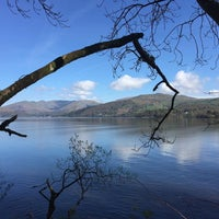 Photo taken at Wray Castle by Becky W. on 4/23/2017