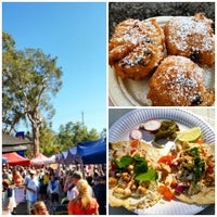 Photo taken at Noosa Farmers Market by Jess F. on 9/1/2014
