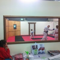 Photo taken at Peninsula Karate by Guy B. on 9/14/2012