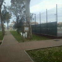 Photo taken at Complexo de Ténis e Padel de Almeirim by Miguel D. on 3/16/2013