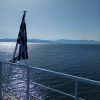 Photo taken at Poseidon Ferry by Ta A. on 2/24/2017