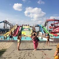 Photo taken at Aquapark Senec by Lubo S. on 8/9/2014