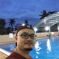 Photo taken at ASRC Swimming pool by Aznor Fadly A. on 10/20/2016