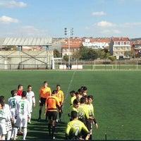 Photo taken at Abdurrahman Temel Futbol Sahası by Cem S. on 12/24/2016