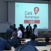 Photo taken at HEC-ULg - 050 by Marc G. on 3/20/2014