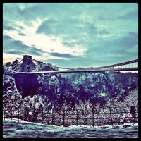 Photo taken at Clifton Suspension Bridge by Bence S. on 1/21/2013