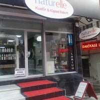 Photo taken at Naturella Güzellik Salonu by Kadir D. on 12/14/2013