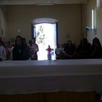 Photo taken at Igreja da Divina Pastora by LUIZ C. on 3/2/2014