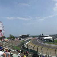 Photo taken at 鈴鹿サーキット 最終コーナー by みつ。 on 7/29/2017