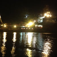 Photo taken at Leith Docks by Mike S. on 10/3/2012