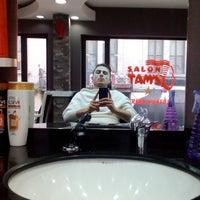 Photo taken at Salon TAM'S by sefa K. on 2/19/2016