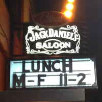 Photo taken at The Jack Daniel's Saloon by Johnathan P. on 3/2/2014