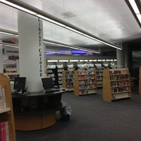 Photo taken at Queens Library by Abby L. on 12/19/2012