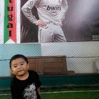 Photo taken at Bangli Futsal Arena (BFA) by Yudi S. on 6/13/2014