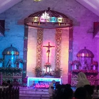 Photo taken at Sto. Thomas de Villanueva Parish (Danao City Church) by Fritzie lee S. on 9/17/2016