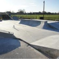 Photo taken at Clapham Skate Park by Sonali F. on 10/6/2012