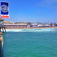 Photo taken at Vans US Open of Surfing 2013 by Drew C. on 7/27/2013