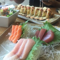Photo taken at Sushi Nishi by Chang M. on 9/5/2015