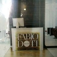 Photo taken at Fabio Doti Salon by Sara K. on 6/17/2014