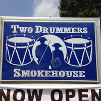 Photo taken at Two Drummers Smokehouse by Shannon D. on 7/19/2013