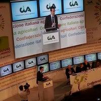 Photo taken at Auditorium della Tecnica by Giulia R. on 2/26/2014