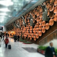 Photo taken at Indira Gandhi International Airport (DEL) by Andres Carceller on 1/15/2013