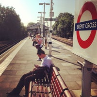 Photo taken at Brent Cross London Underground Station by Andres Carceller on 7/18/2013