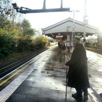 Photo taken at Brent Cross London Underground Station by Andres Carceller on 11/26/2012