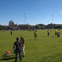 Photo taken at Carrickfergus Rugby Club by Pastie B. on 6/15/2014