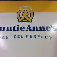 Photo taken at Auntie Anne's by Cat W. on 2/1/2014