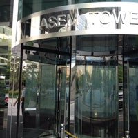 Photo taken at ASEM Tower by Jae Hyun K. on 6/19/2013
