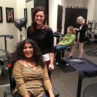 Photo taken at New Reflections Salon-Aveda Lifestyle by Sunni F. on 3/15/2013