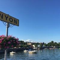 Photo taken at Nyon by Vanessa C. on 7/4/2016