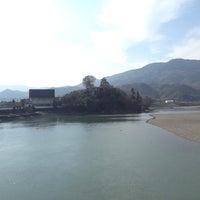 Photo taken at 肱川橋 by NeriTaro S. on 3/17/2014